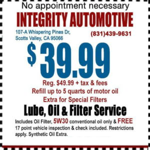Integrity Automotive Service, Inc   Engines and Transmissions